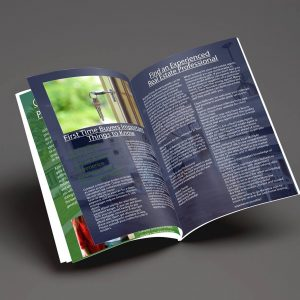 Booklet Design for Tallahassee Real Estate firm